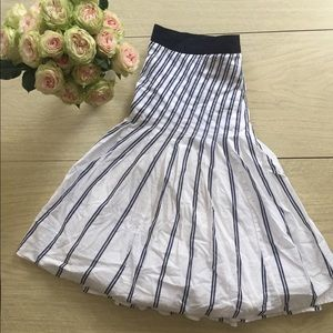 EUC Anthropologie Fit and Flare Skirt